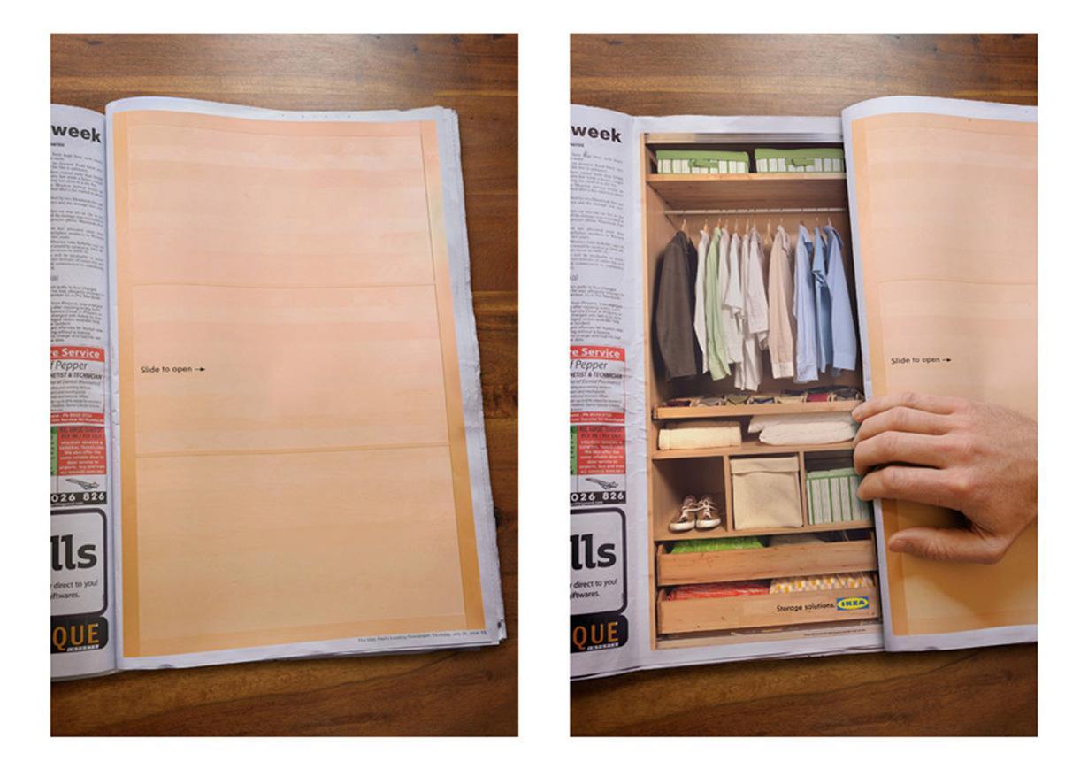 IKEA Print Ad -  Sliding Doors
