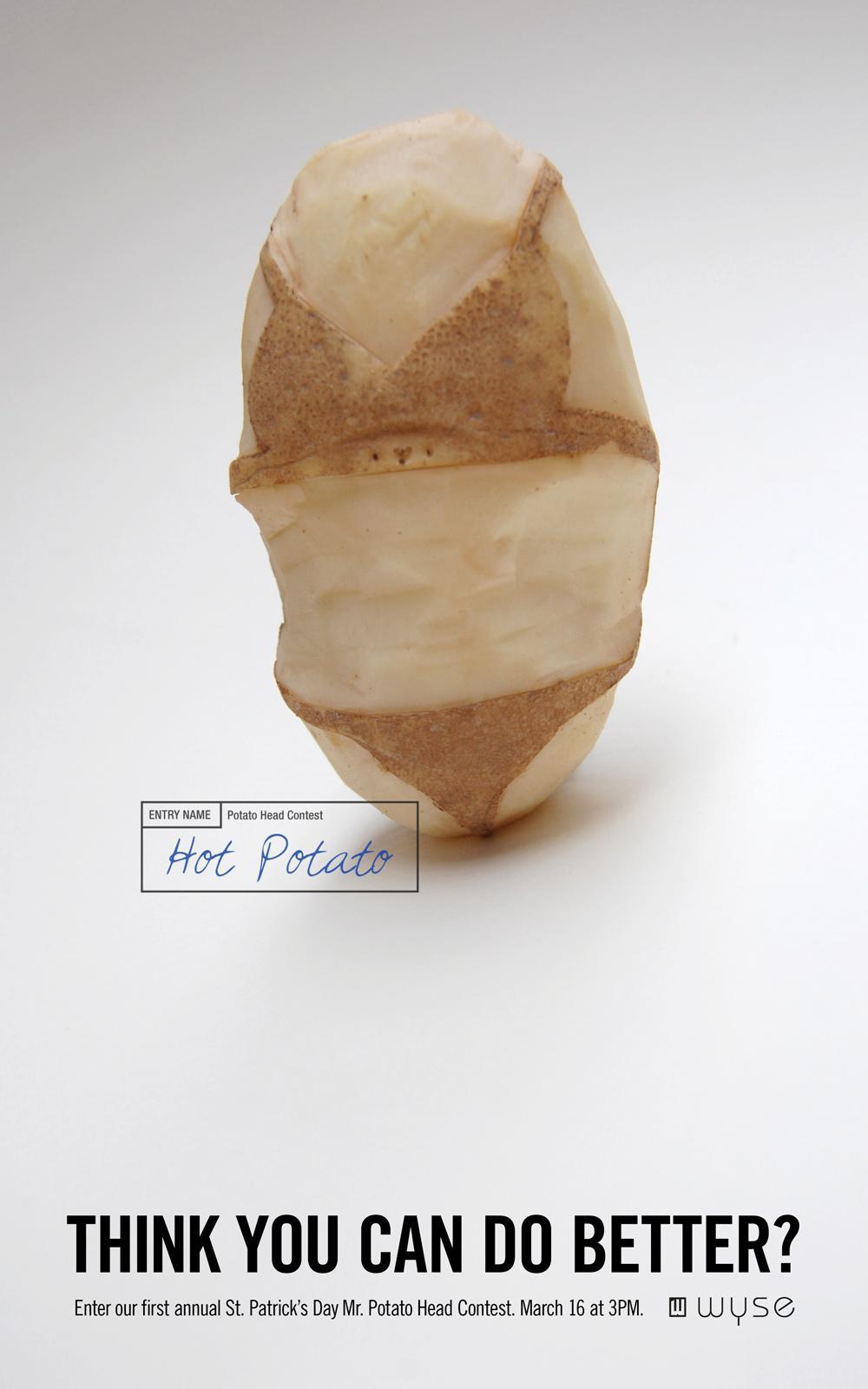 Wyse Print Ad -  Hot Potato
