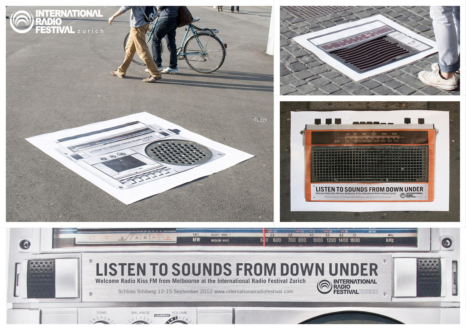 International Radio Festival Outdoor Ad -  Streetposters