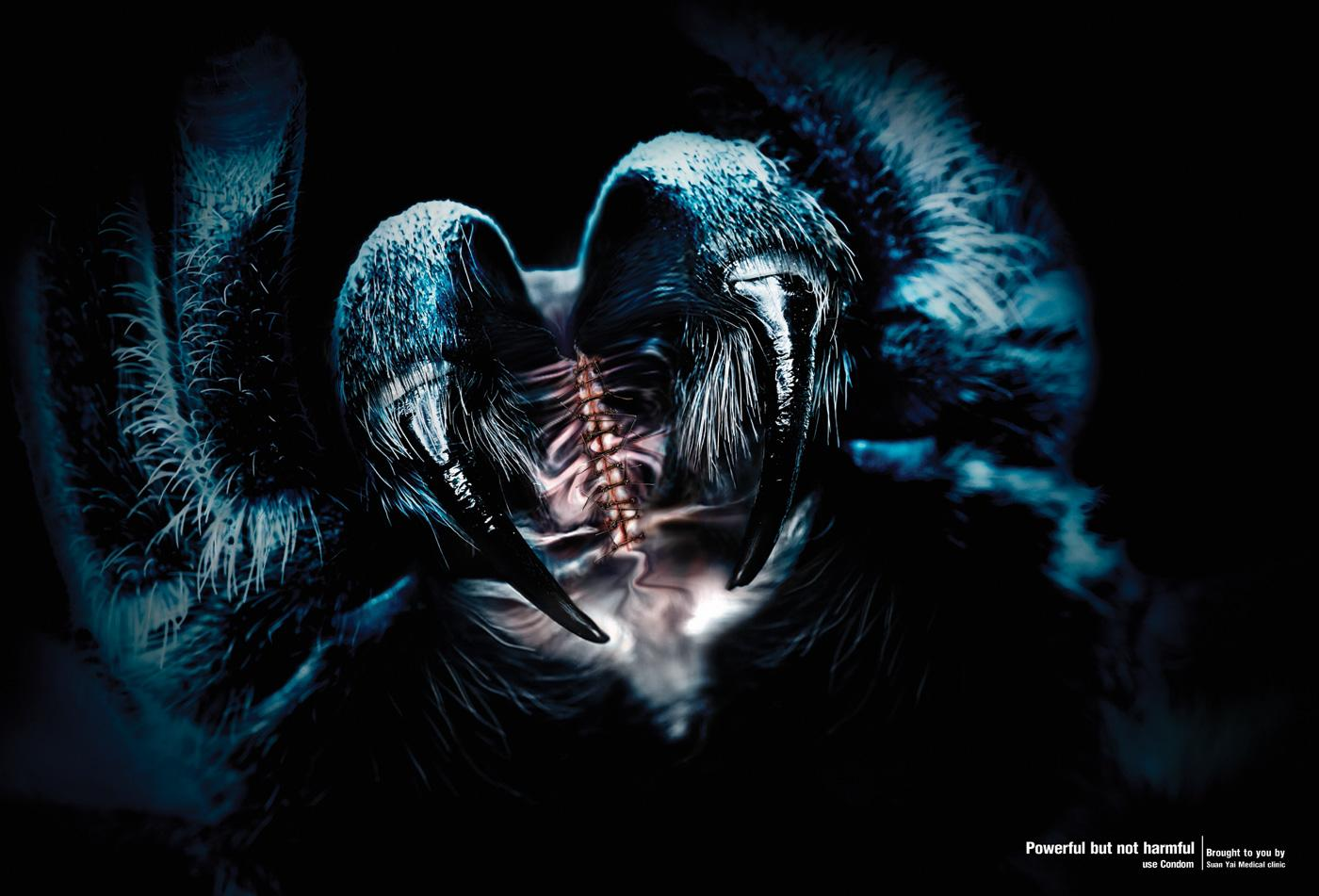 SuanYai Medical clinic Print Ad -  Spider