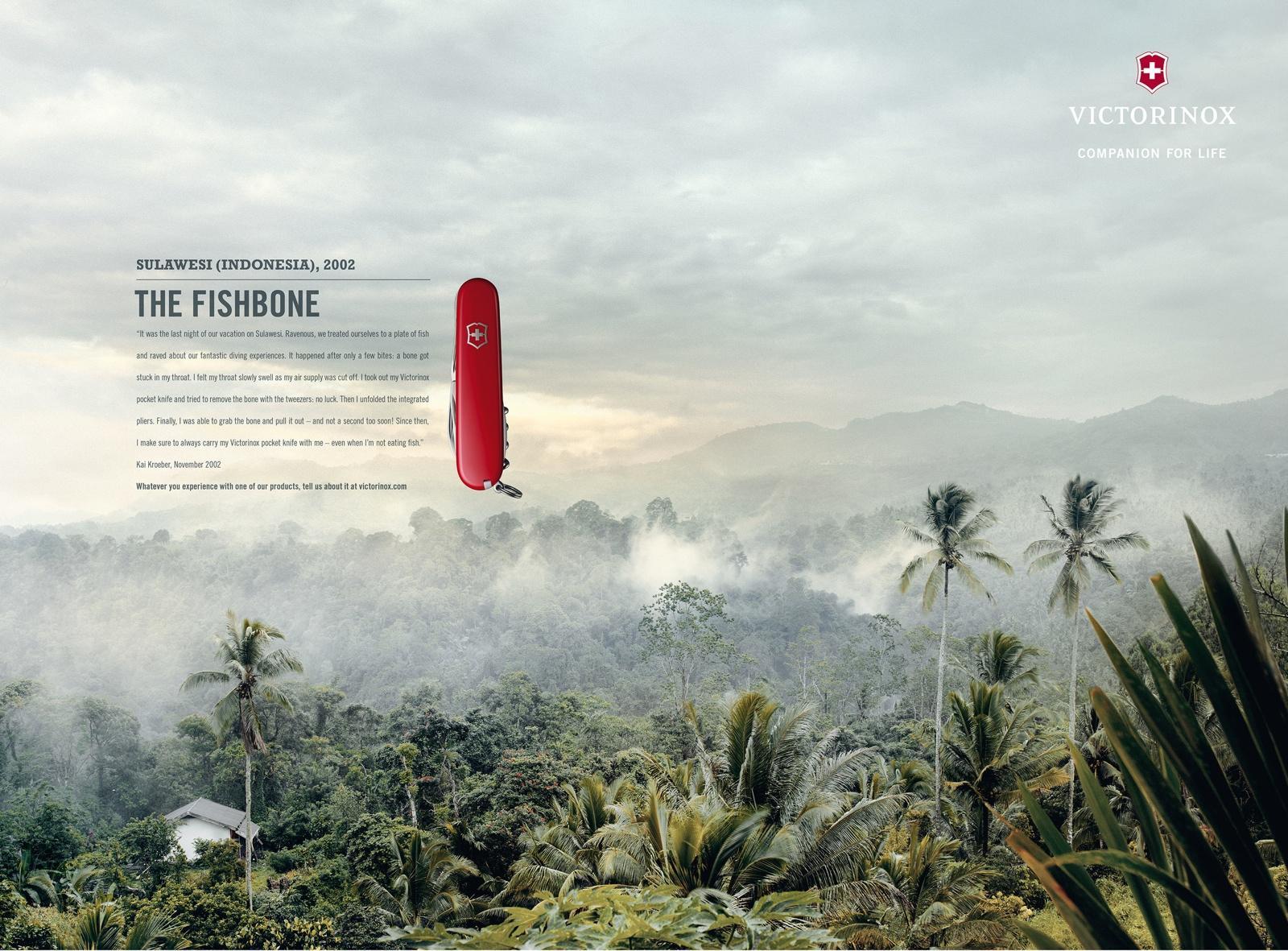 Victorinox Print Ad -  Fan Letters, Sulawesi