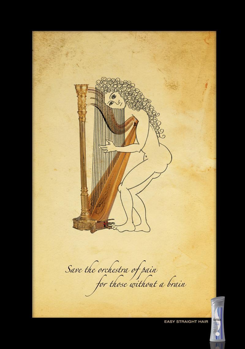 Sunsilk Print Ad -  Orchestra