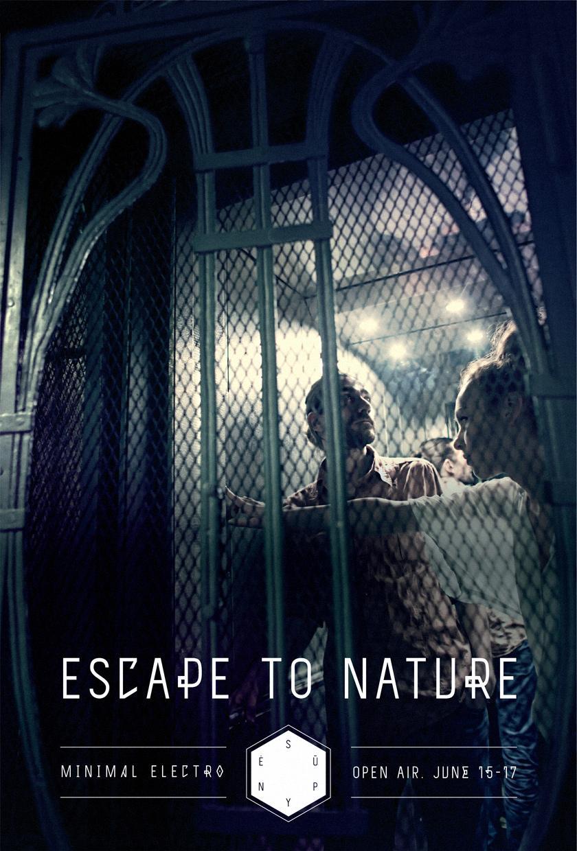 Supynės festival Print Ad -  Escape to nature, 3
