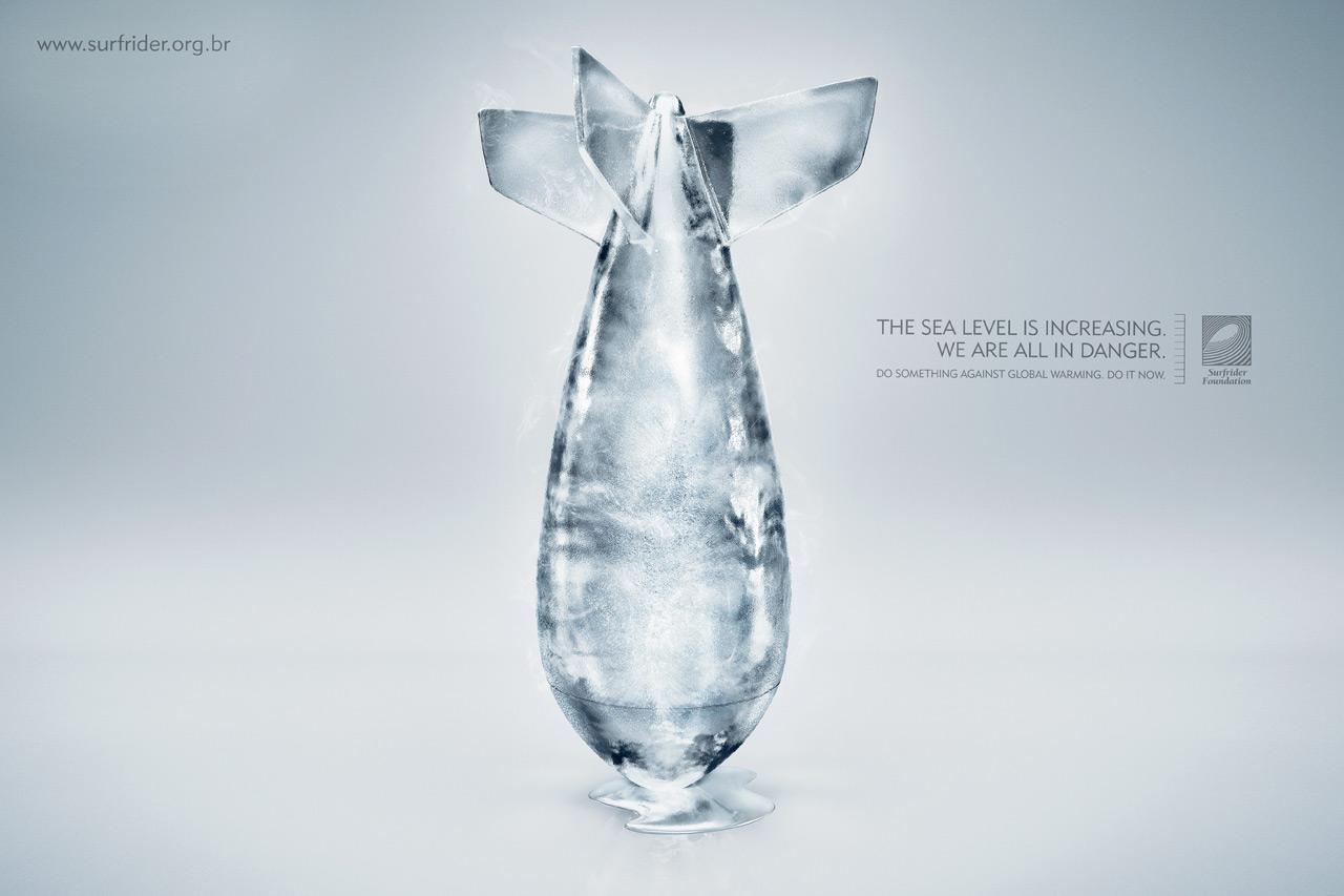 Surfrider Foundation Print Ad -  Bomb