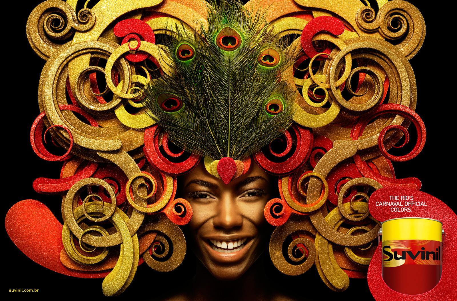 Suvinil Print Ad -  Rio's Carnaval
