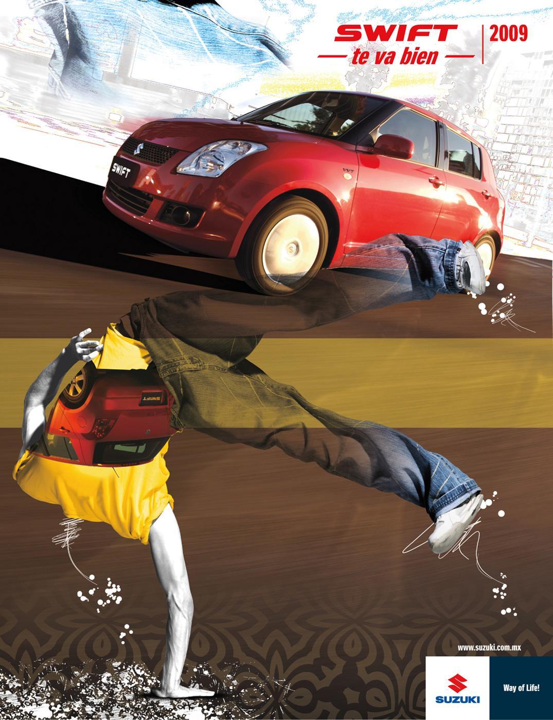 Suzuki Print Ad -  Men