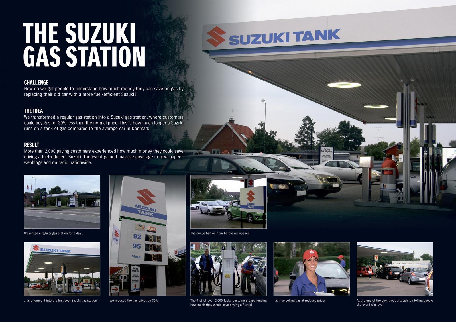 Suzuki Ambient Ad -  Gas station