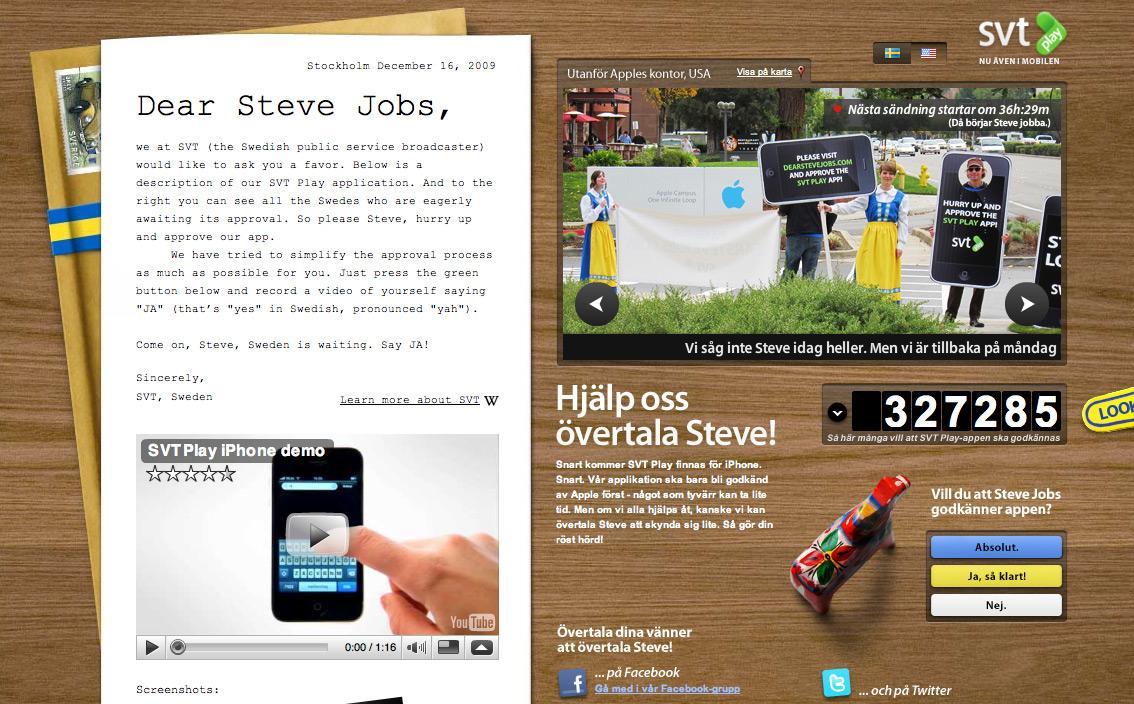 SVT Film Ad -  iPhone app