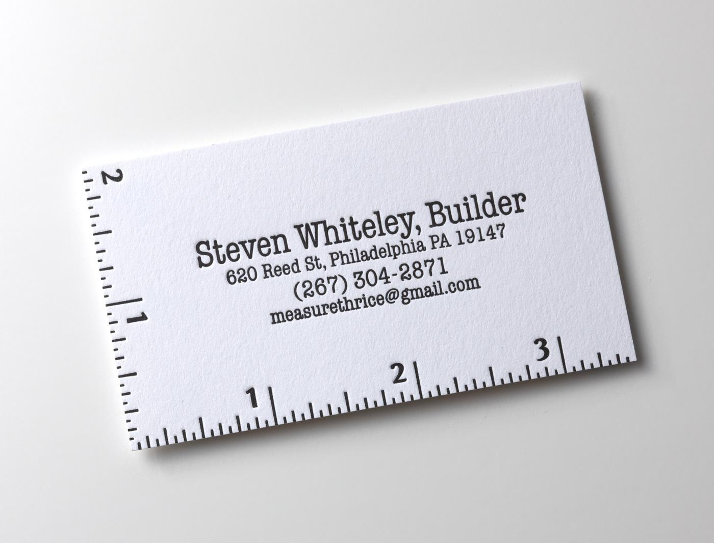Steven Whiteley Direct Ad -  Business card