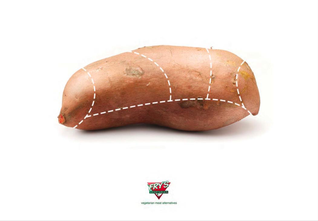 Fry's Print Ad -  Sweet potato