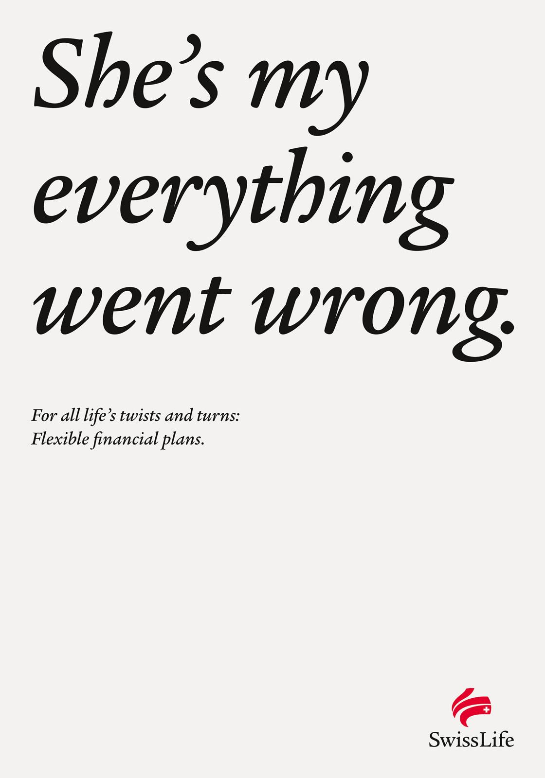 Swiss Life Print Ad -  Life's Turns In A Sentence, 4