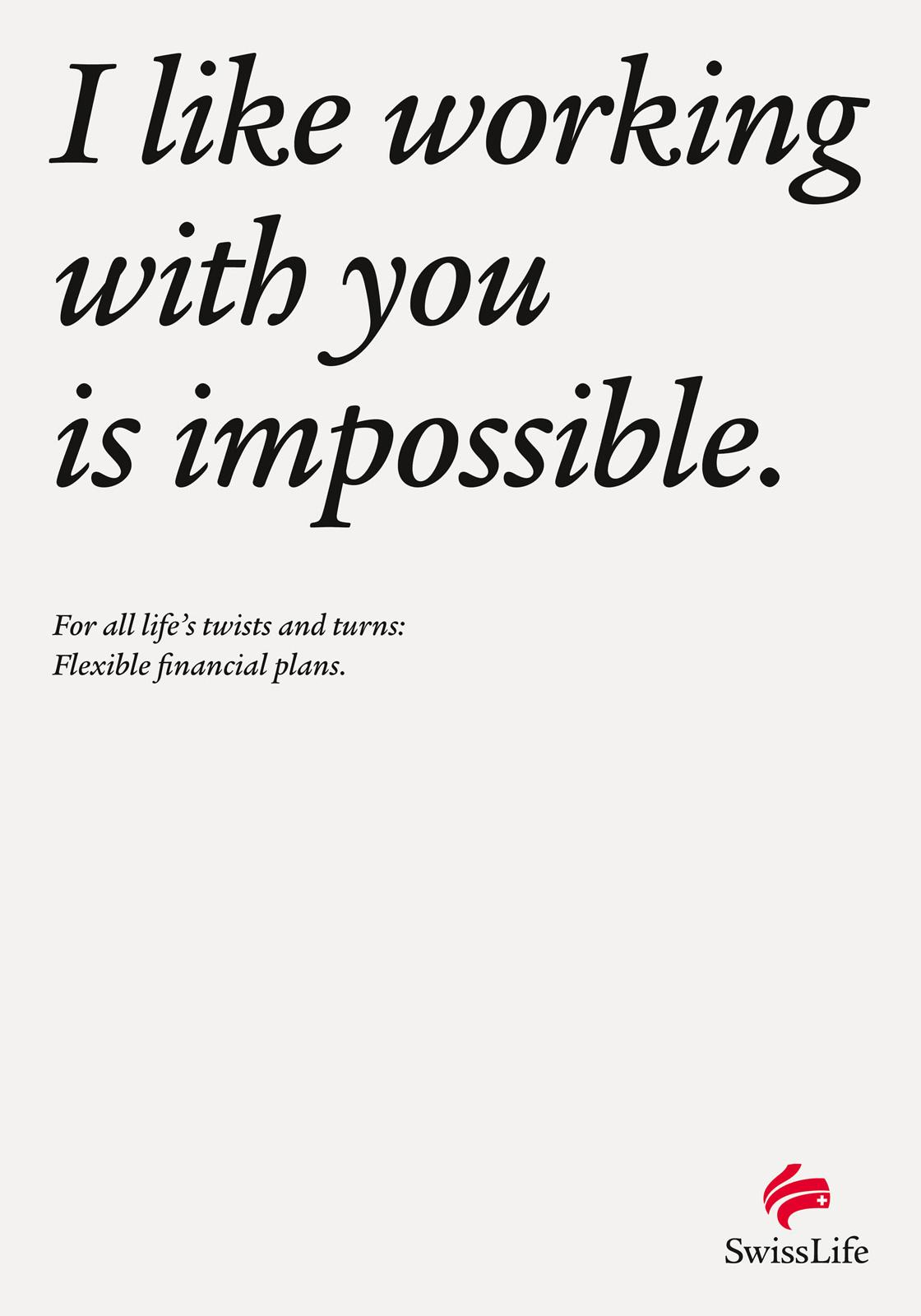 Swiss Life Print Ad -  Life's Turns In A Sentence, 5
