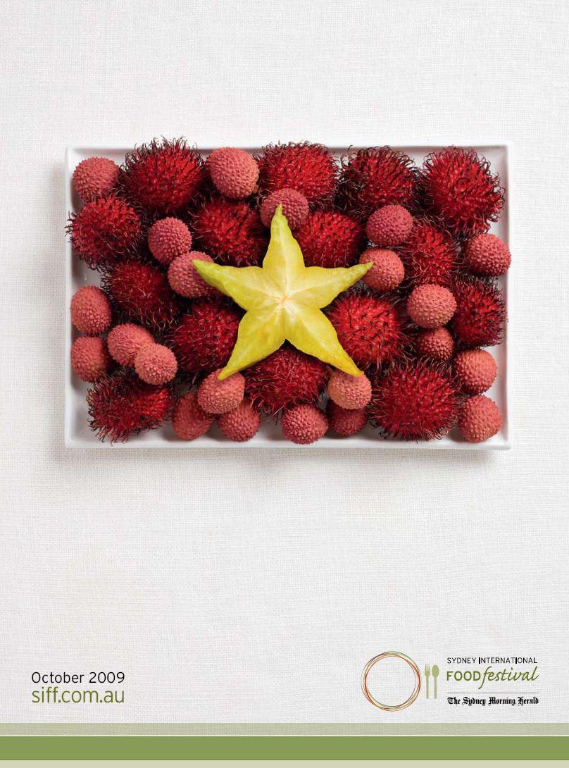 Sydney International Food Festival Print Ad -  Flags, Vietnam