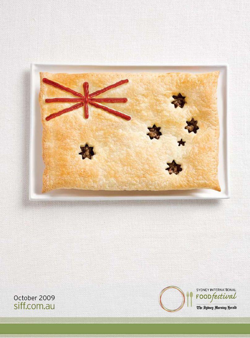 Sydney International Food Festival Print Ad -  Flags, Australia