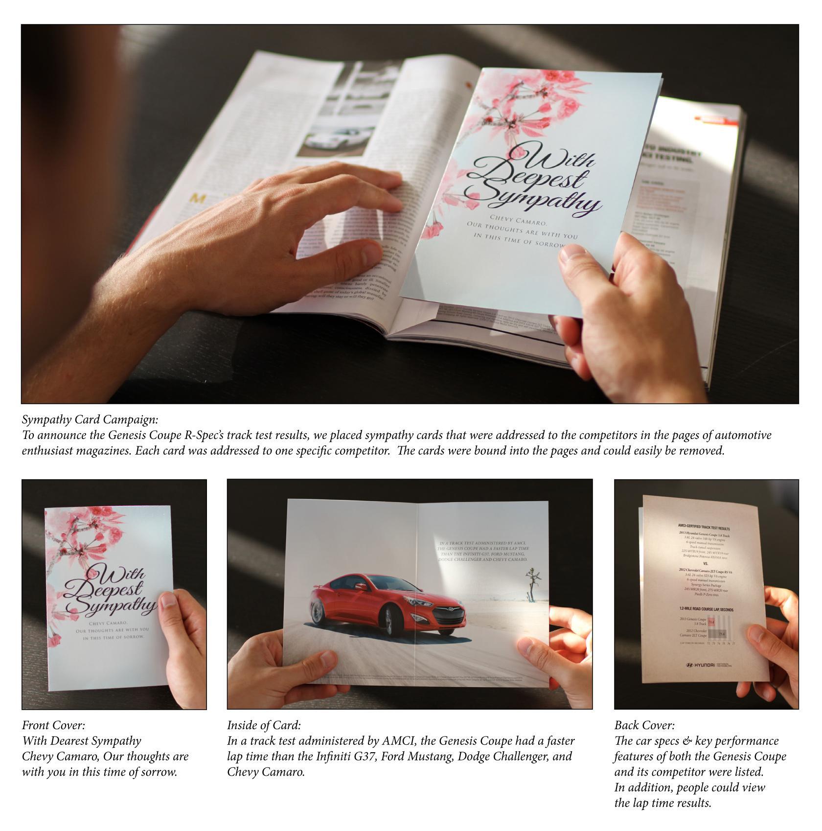 Hyundai Print Ad -  Deepest Condolences