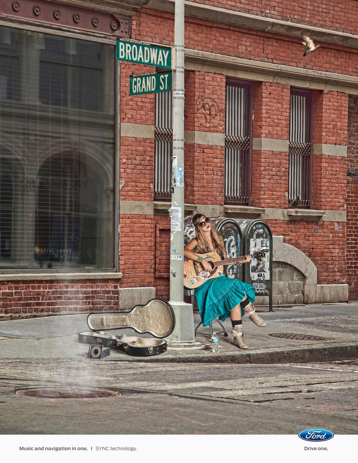 Ford Print Ad -  New York