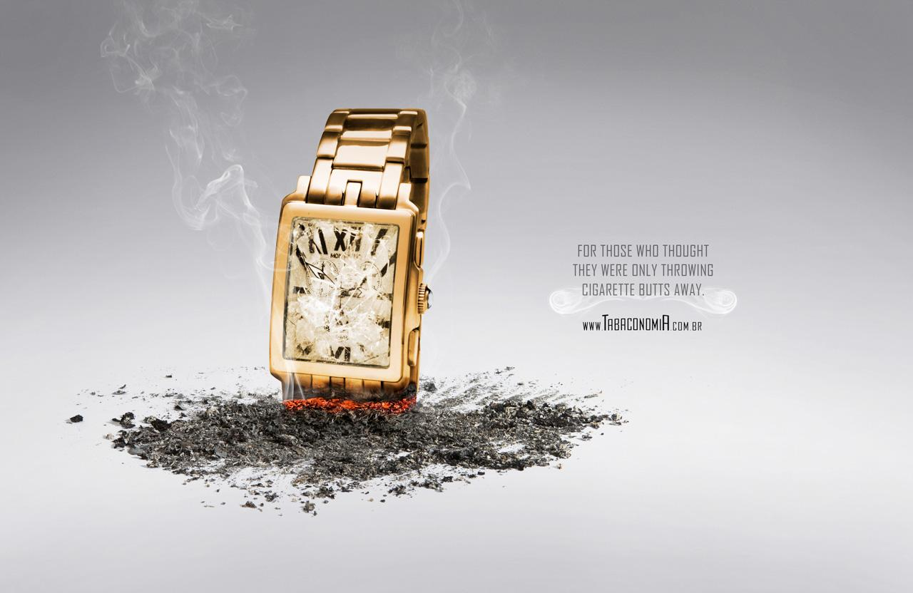 Tabaconomia Print Ad -  Watch