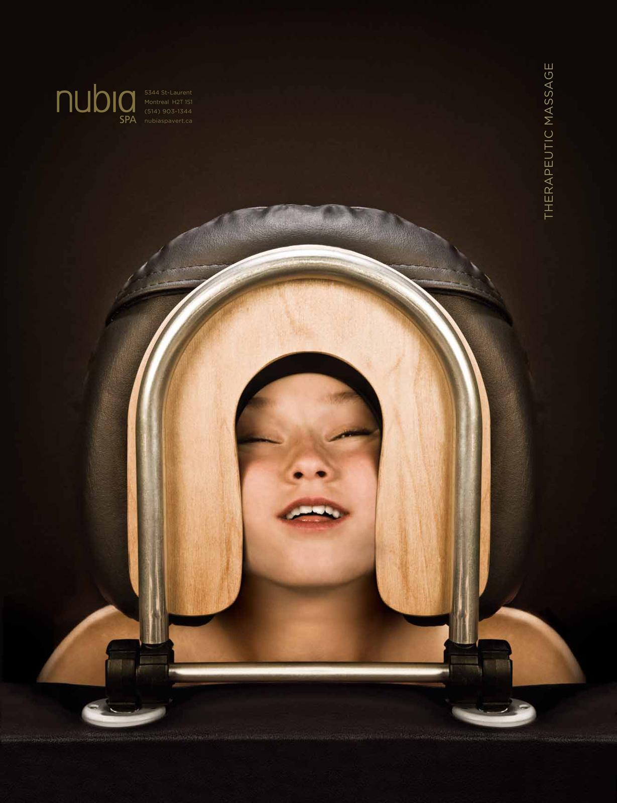 Nubia Green Spa Print Ad -  Child