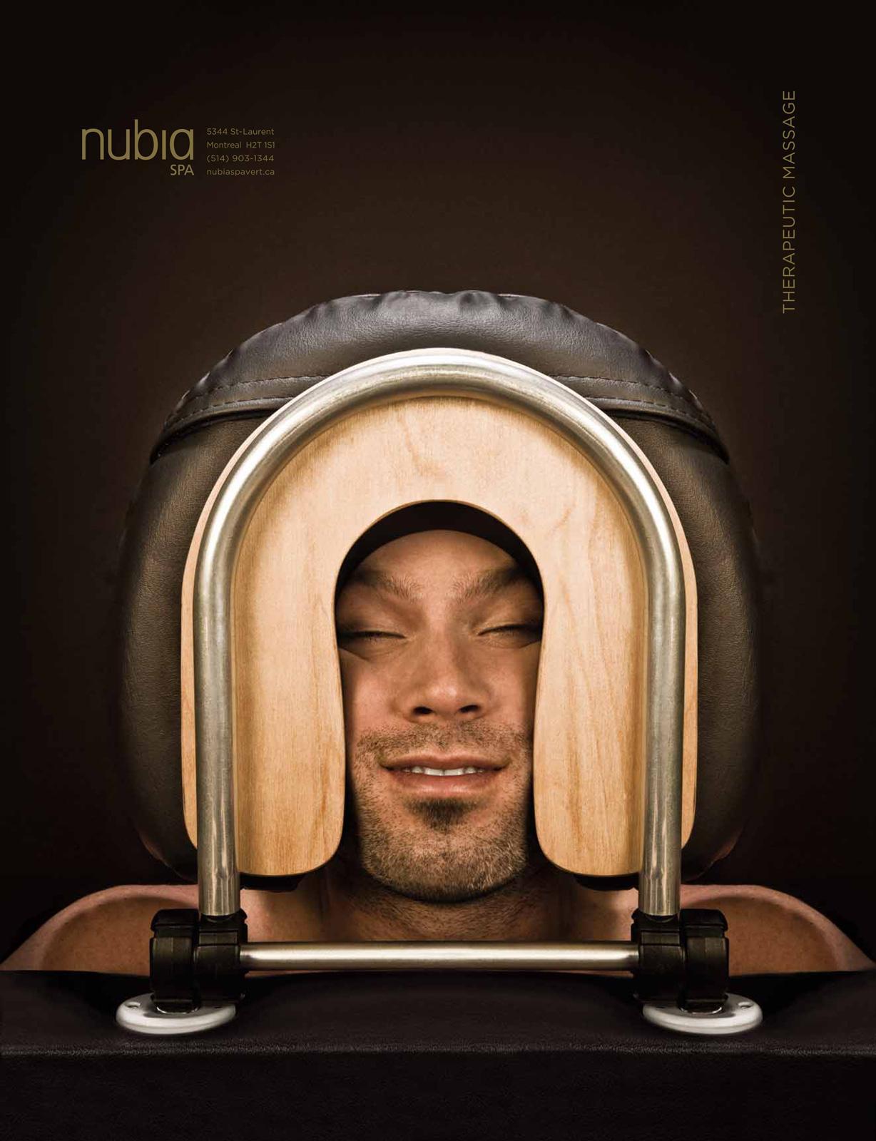 Nubia Green Spa Print Ad -  Man