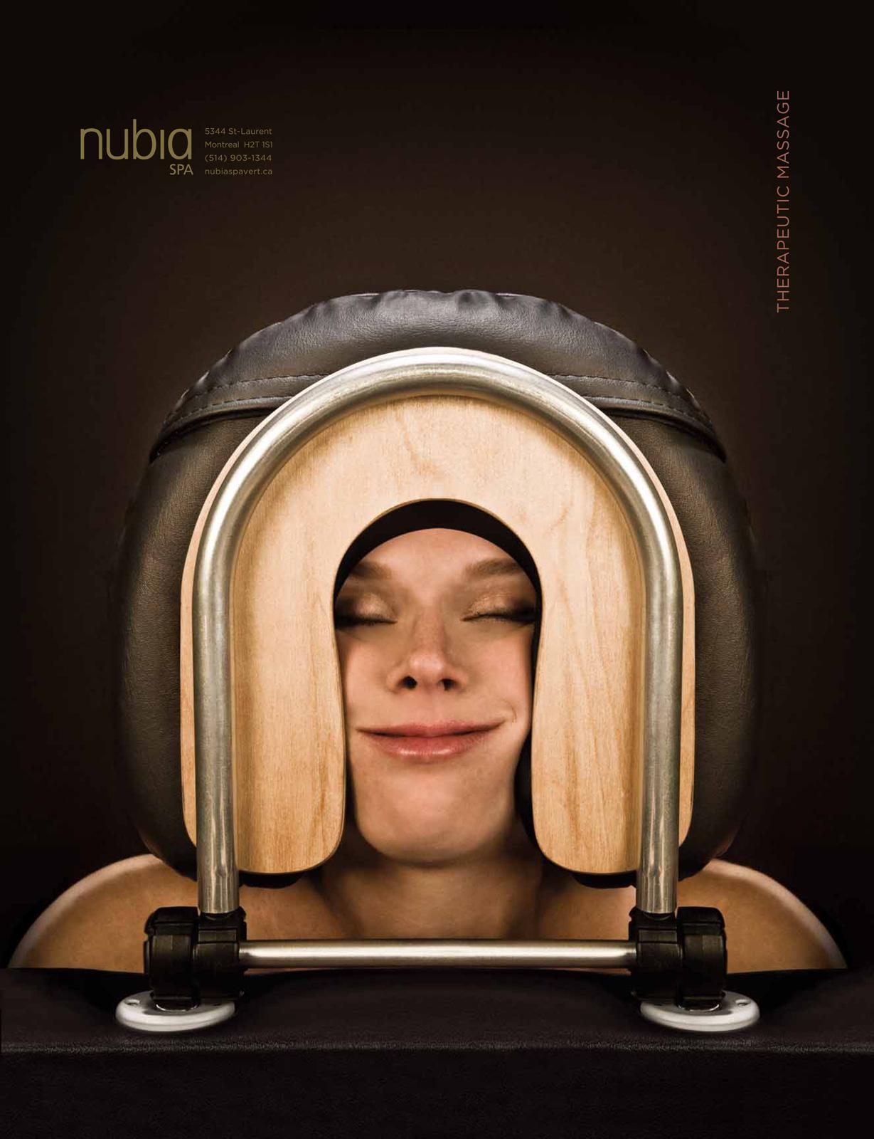 Nubia Green Spa Print Ad -  Woman