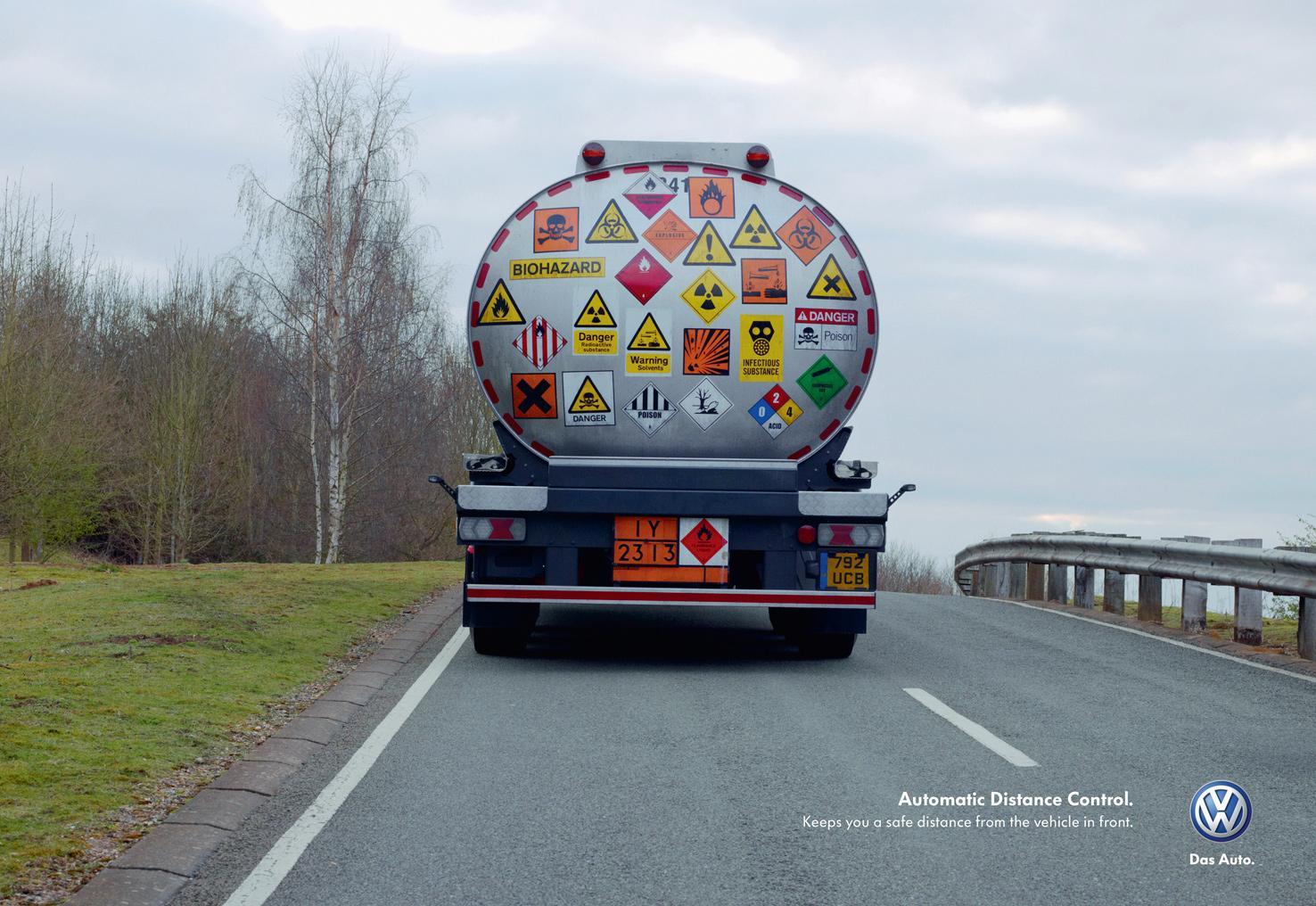 Volkswagen Print Ad -  Tanker