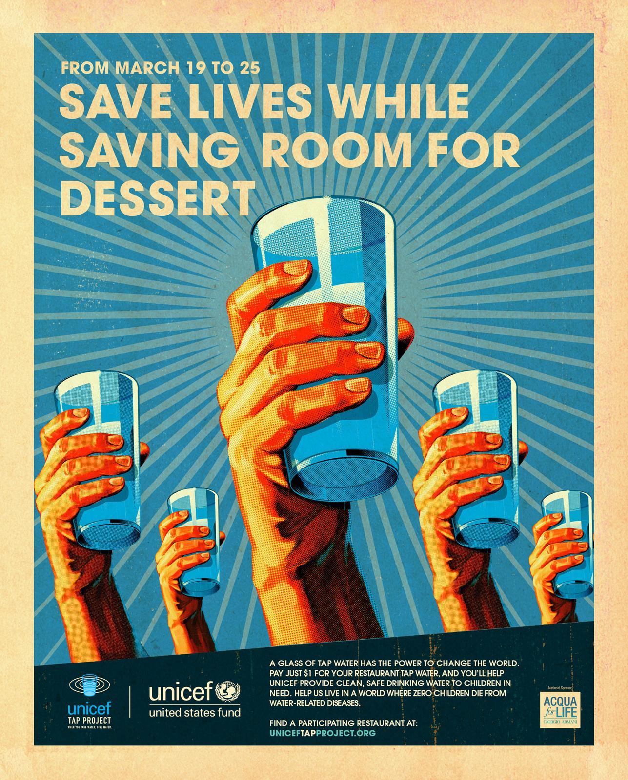 Unicef Print Ad -  Save