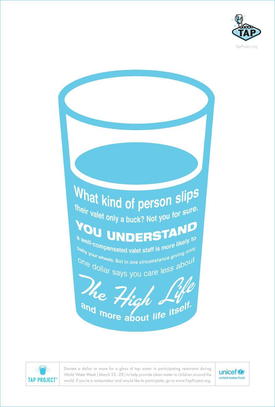 Unicef Print Ad -  High life