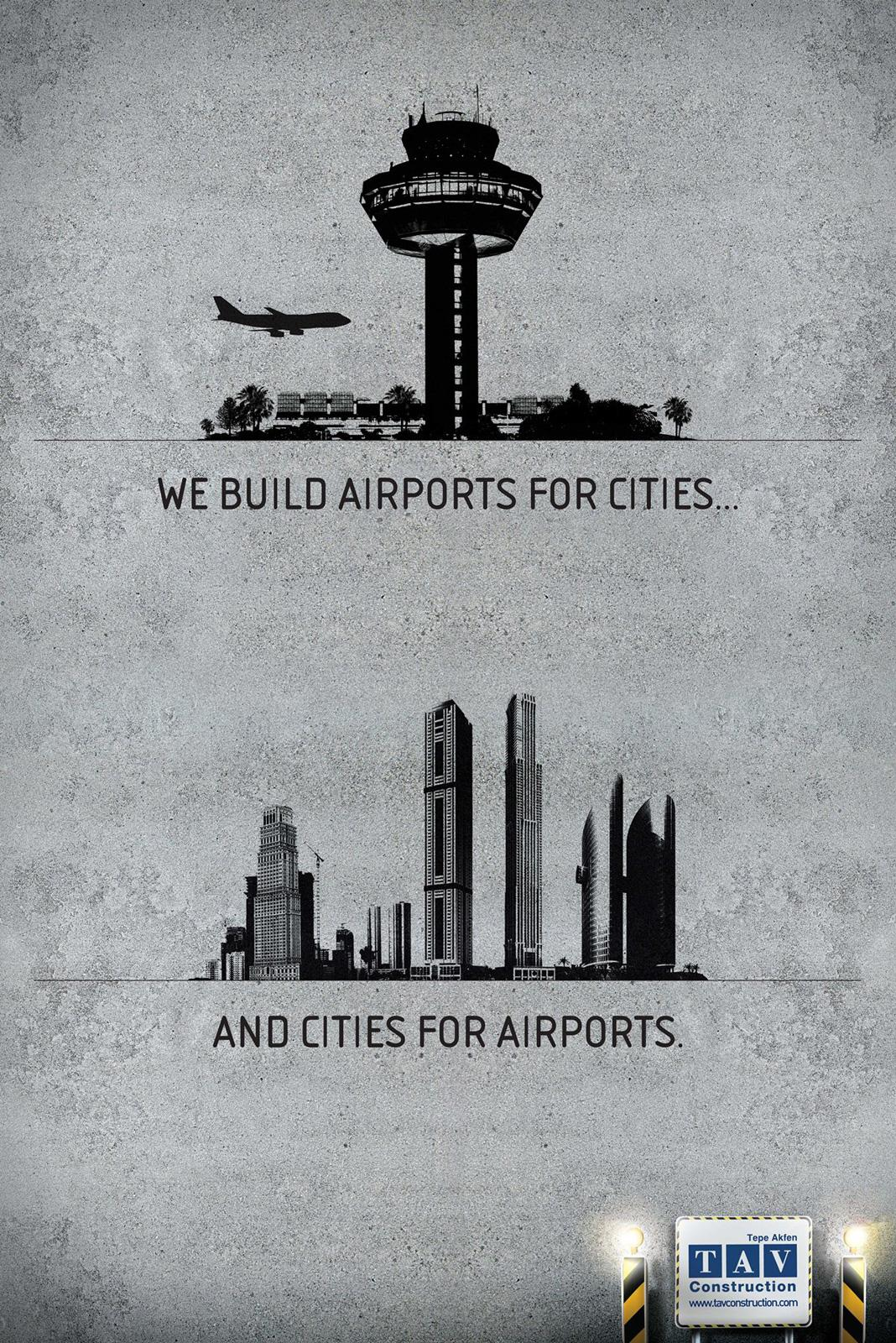 TAV Construction Print Ad -  Cities
