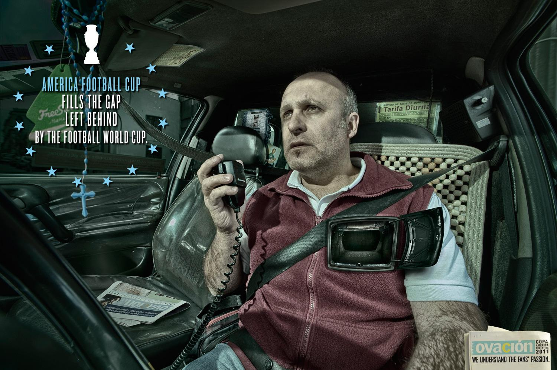 Ovacion Print Ad -  Taxi