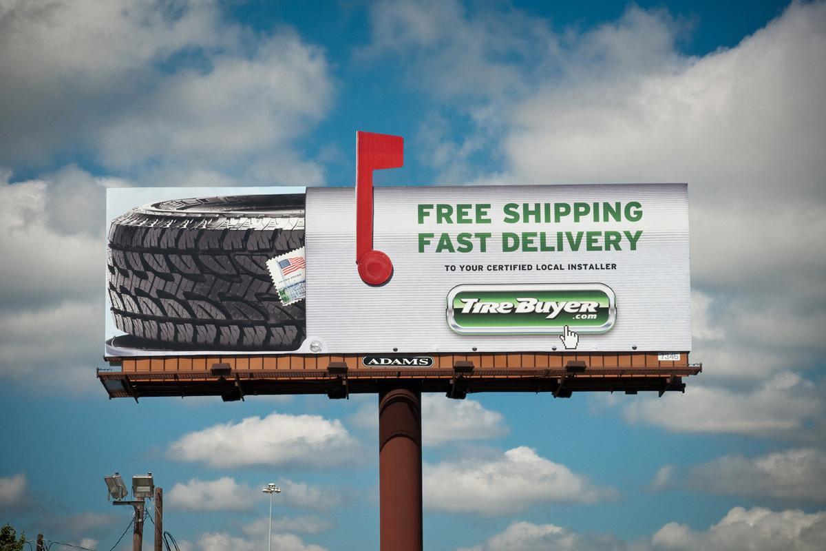 Tirebuyercom Outdoor Advert By LGA Mailbox Billboard Ads Of - 17 incredibly creative billboard ads