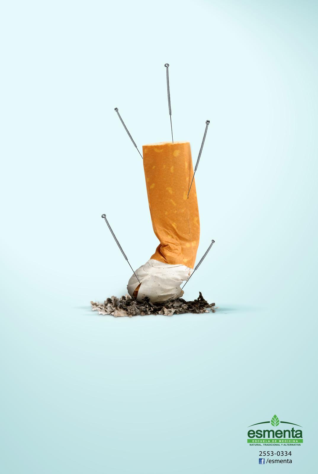 Esmenta Print Ad -  Cigarrete