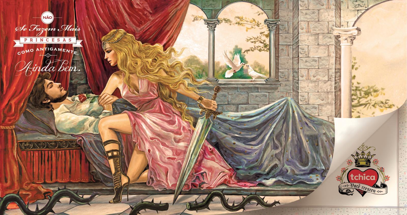 Tchica Print Ad -  Prince Charming