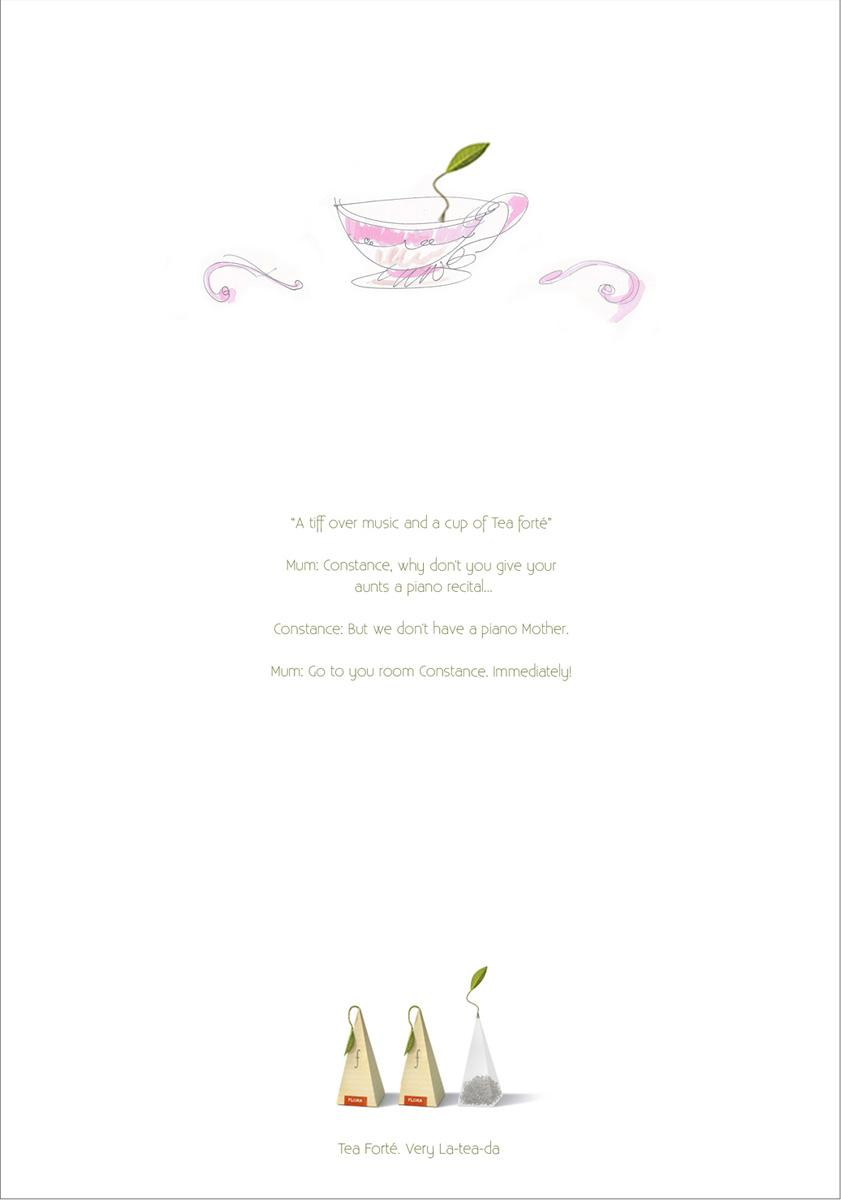 Tea forte Print Ad -  Piano