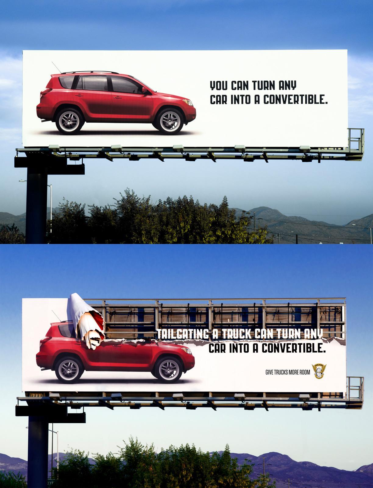 Colorado State Patrol Outdoor Ad -  Don't Lose Your Head