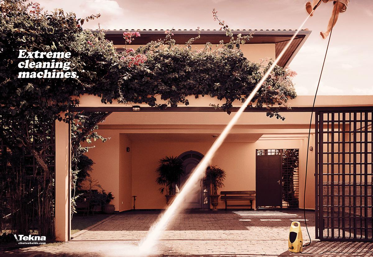 Tekna Print Ad -  Extreme cleaning machines, 1