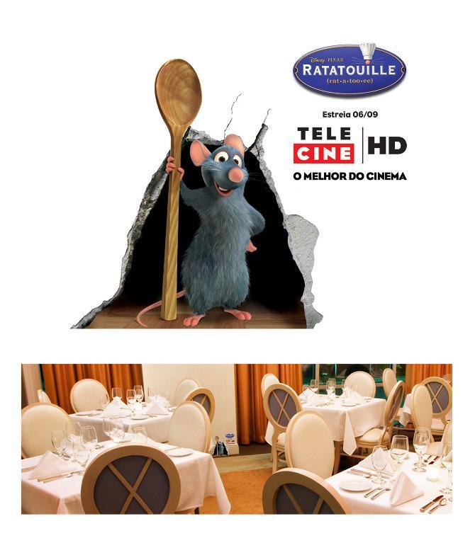 Telecine Ambient Ad -  Ratatouille