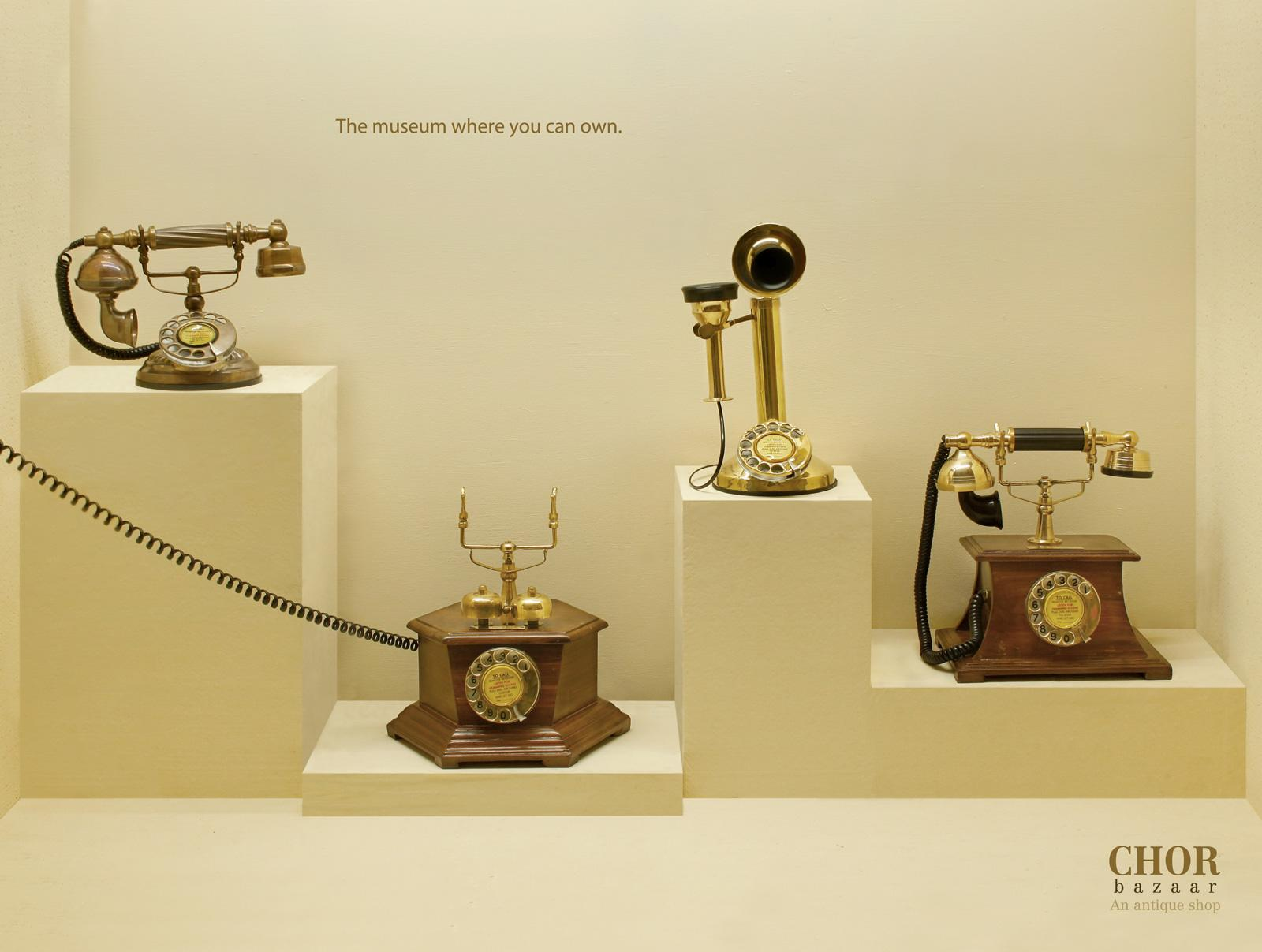Chor Bazaar Print Ad -  Telephone
