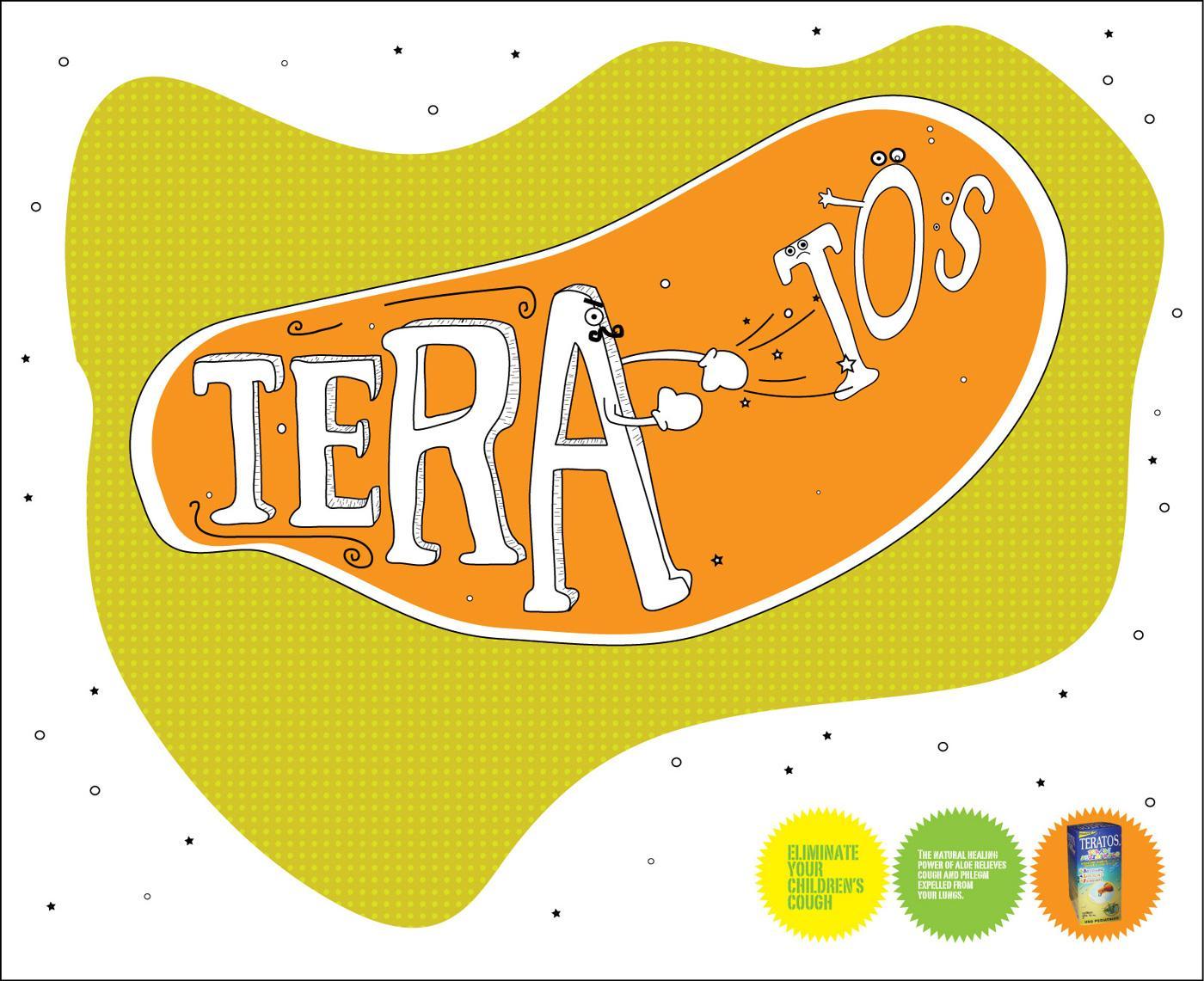 Teratos Print Ad -  Fist