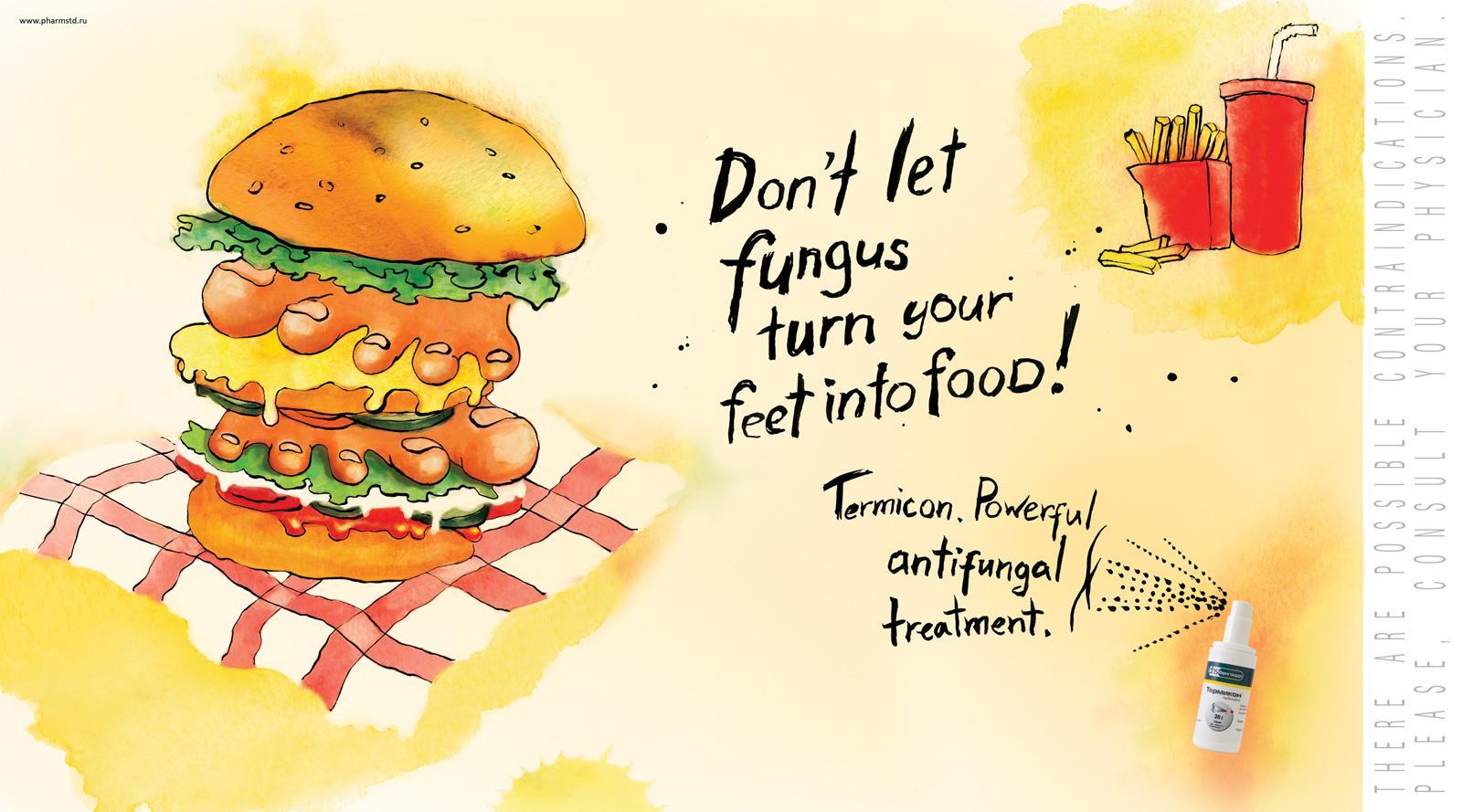 Termicon Print Ad -  Hamburger