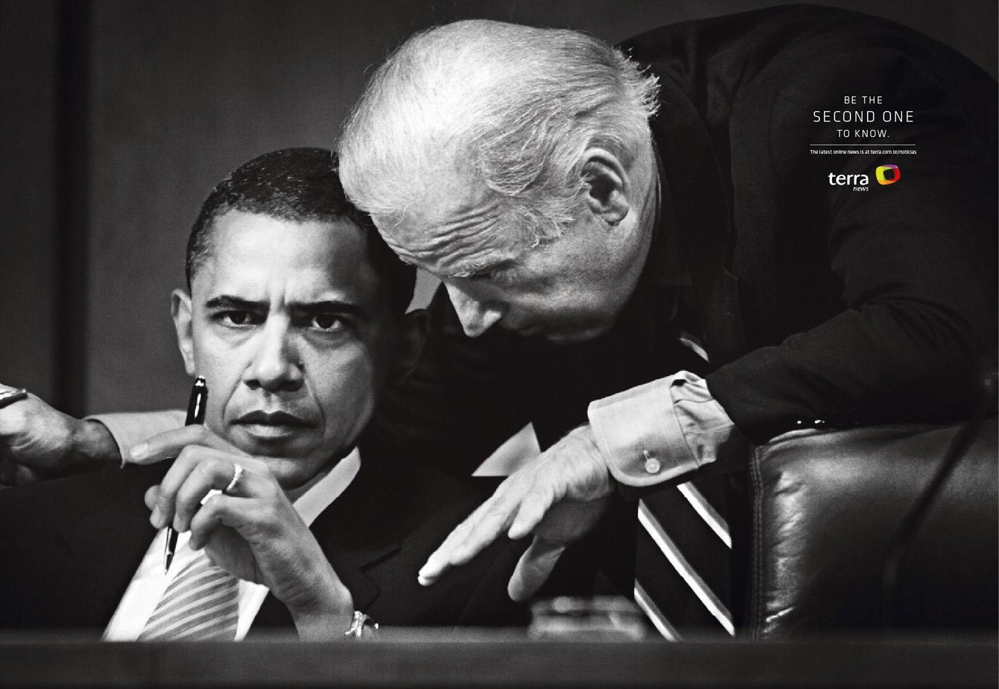 Terra Print Ad -  Obama
