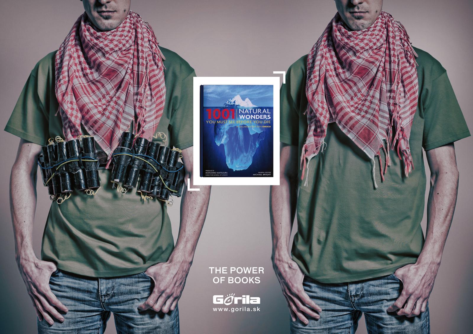 Gorila.sk Print Ad -  Terrorist