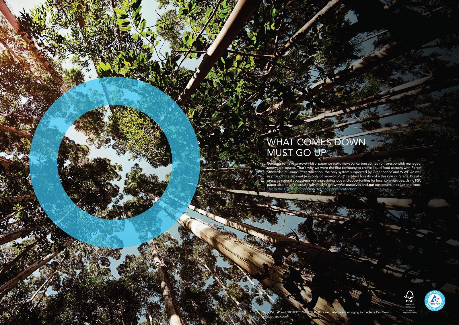 Tetra Pak Print Ad -  Forest Stewardship Council
