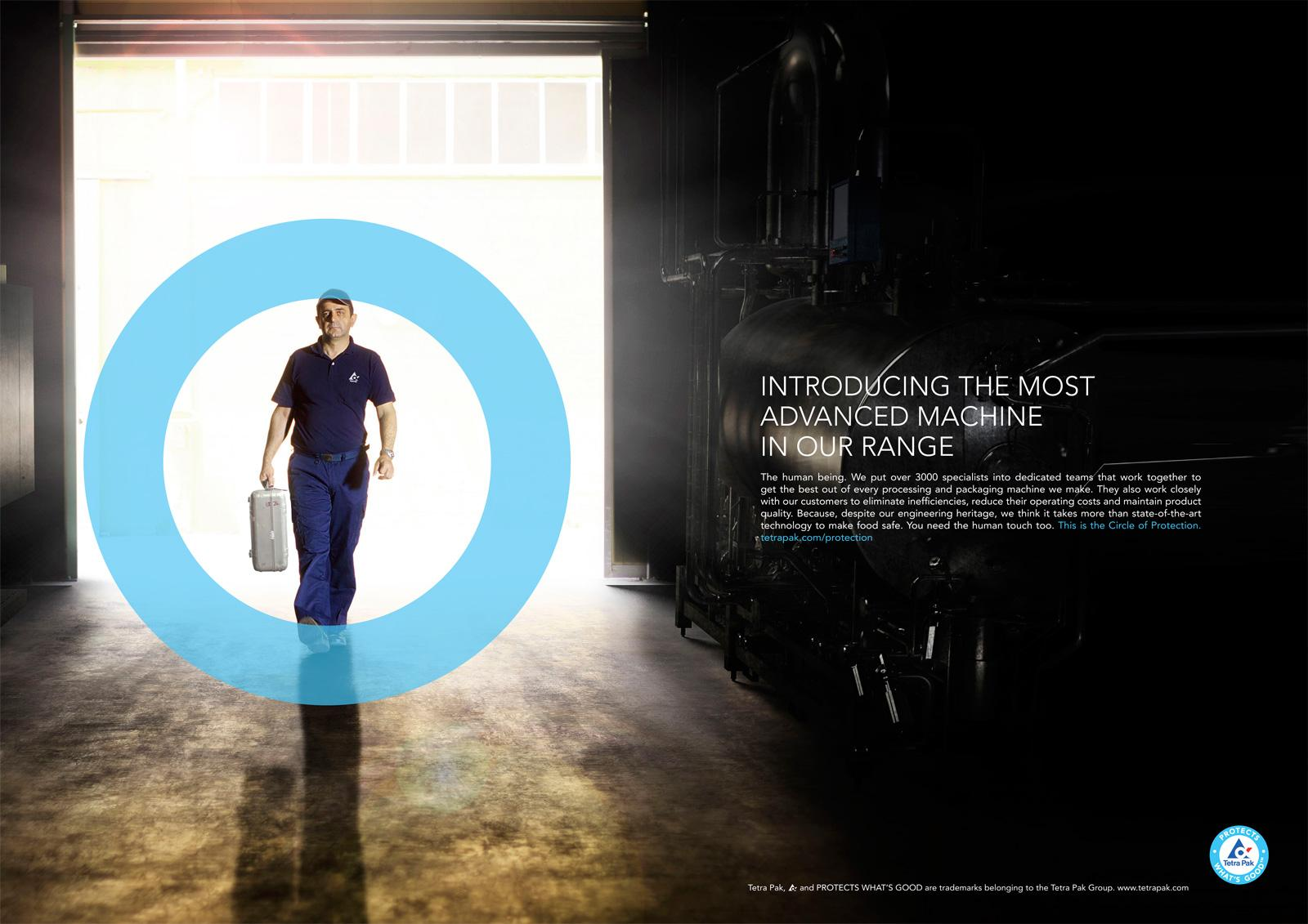 Tetra Pak Print Ad -  Technical Services