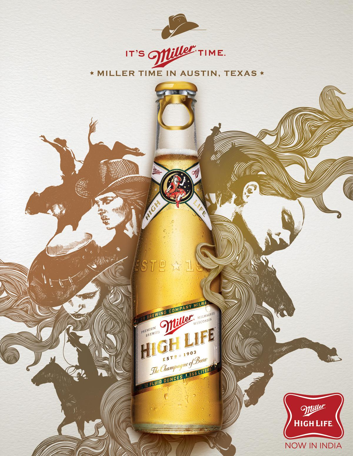 Miller Print Ad -  Texas