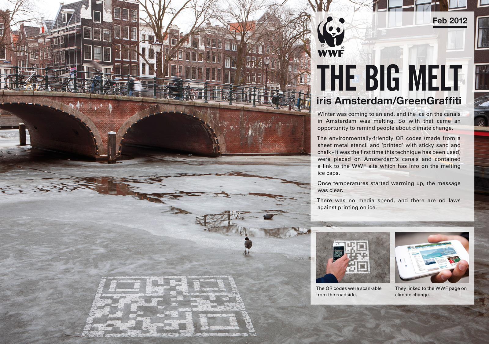 WWF Ambient Ad -  The Big Melt