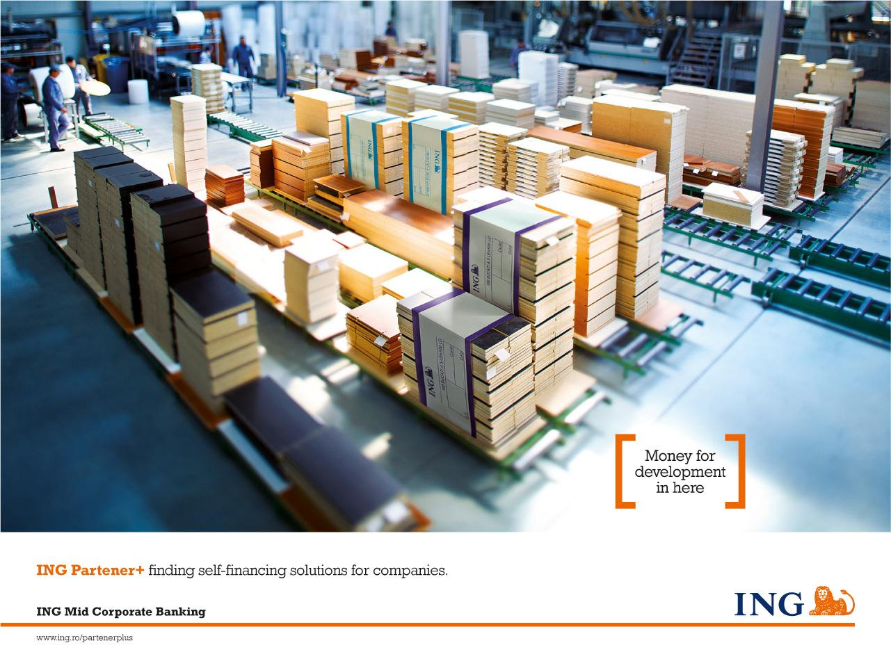 ING Print Ad -  Boards