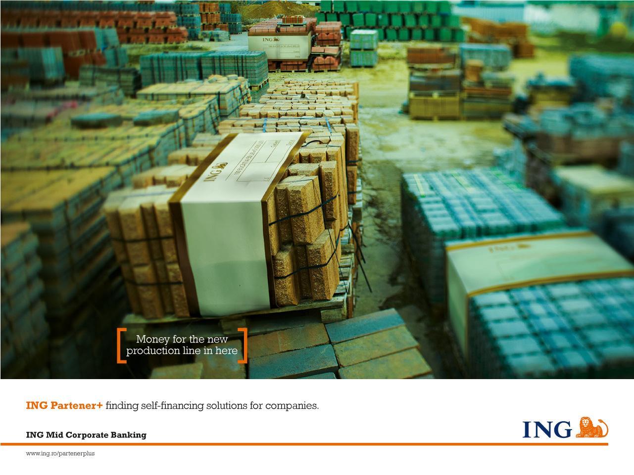 ING Print Ad -  Bricks