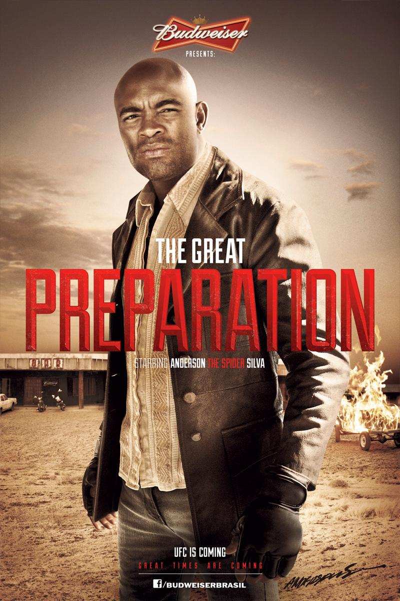 Budweiser Outdoor Ad -  The Great Preparation, 1
