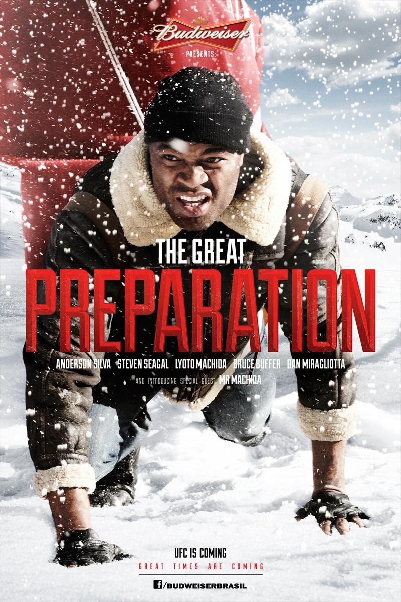 Budweiser Outdoor Ad -  The Great Preparation, 2