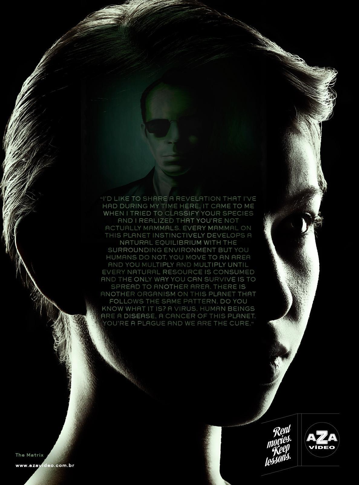 Aza Video Print Ad -  Matrix